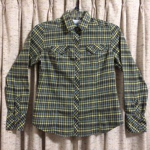 Columbia Pearl Snap Long Sleeve Shirt
